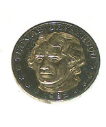 1985 Thomas Jefferson American Presidents Anniversary Coin - $12.07