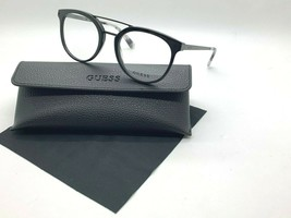 New Guess Frame GU1964 005 Black 52-20-145MM /CASE Cloth - $31.79