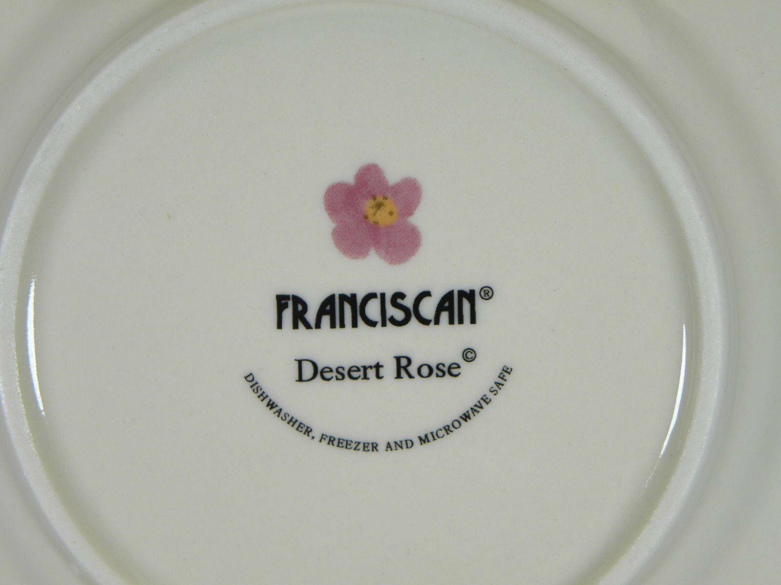 Franciscan Desert Rose Bread & Butter Plates Set of 12 BRAND NEW PRODUCTION
