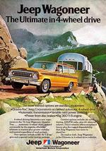 1974 Jeep Wagoneer - Promotional Advertising Poster - $9.99+