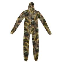 Rare Shelfies Adult Sloth Invasion Jumpsuit Full Zip Size Medium $120 - $74.24