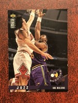 1995-96 Upper Deck Collector's Choice #347 Karl Malone Basketball Card - $0.99