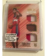 2015-16 ABSOLUTE TOOLS OF THE TRADE ROOKIE MATERIALS TRIO PRIME #15  OUB... - $8.50
