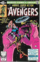 Marvel Super Action Comic Book #25 The Avengers 1980 VERY FINE/NEAR MINT - $5.94