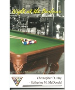 Night at the Parlour Billiard Games book All ages Skill Levels Pool Tabl... - $4.93