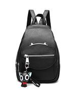 Fashion Women Backpacks New Black Leather Girl's Schoolbag Bookbags YG10... - £28.28 GBP