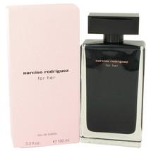 Narciso Rodriguez for her Perfume 3.3 Oz Eau De Toilette Spray image 2