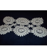 "Hand-Crocheted Doily  14 X 8"" - $7.99"