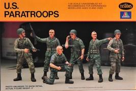 Testors/Italaerei 6 U.S. Paratroopers 1/35 Scale 841 - $8.75