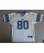 White Detroit Lions #80 Charles Rogers NFL Football Screen Jersey  Adult... - $27.86