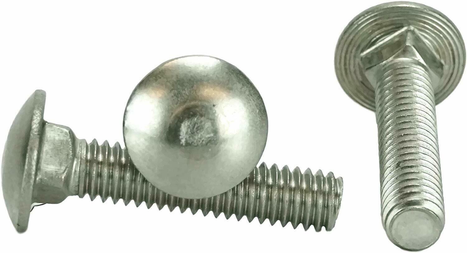 "Primary image for 5/16-18 x 1 1/2"" Stainless Steel Carriage Bolt 18-8 / 304 200pcs"