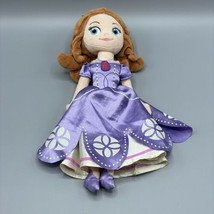 """Disney 13"""" Sophia The First Plush Doll Authentic Stuffed Toy - $12.86"""