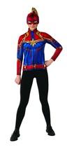 Rubies Captain Marvel Superhéroe Traje Película Adulto Mujer Disfraz Hal... - $31.39