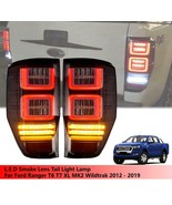 L.E.D LED BAR SMOKED TAIL LIGHTS FOR FORD RANGER T6 PX XL XLT PICKUP 201... - $342.52