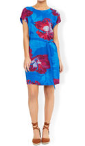 MONSOON Pippa Silk Front Printed Dress BNWT image 3
