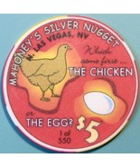 $5 Casino Chip, Silver Nugget, N. Las Vegas, NV.  LTD 550. W45. - $6.99