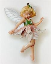 Hallmark 2007 Fairy Messengers Pink Poinsettia Fairy Limited Repaint Ornament - $69.95
