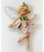 Hallmark 2007 Fairy Messengers Pink Poinsettia Fairy Limited Repaint Orn... - $69.95