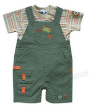 Le Top Rainforest Tee and Shortall Set - $31.00