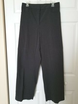 LANE BRYANT Size 26 Charcoal Gray Dress Pants Slacks Front & Back Pockets - $19.75