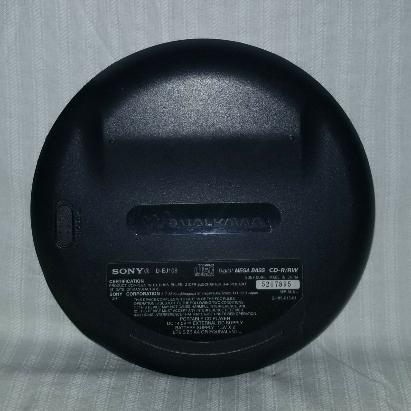 sony cd walkman D-EJ109 image 3