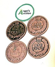 Indian Head Penny 1895, 1896, 1898 and 1899 AA20-CNP2132 Antique image 2