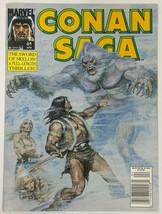 Conan Saga 61 Newsstand Edition Marvel Comic Magazine FN Condition - $6.92
