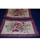 Two nice heavy Tapestry Style Placemats  - $7.99