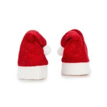 HOLIDAY CRAFT SUPPLY Santa Hat - Knit - Red and White - 1.75 inches - 2 ... - $0.99
