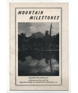 Vintage Mountain Milestones Booklet Pamphlet Penland School of Handicraf... - $9.99