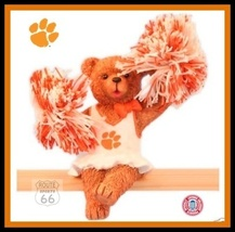 CLEMSON TIGERS FOOTBALL BASKETBALL SPORTS FIGURE CHEERLEADER FREE SHIPPING - $15.39