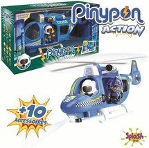 Pinypon Action - Helicopter Of Police With 1 Figure And Accessories, 700... - $234.63