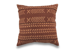 African Mud Cloth Inspired Brown Mudcloth Pillow Cover - $579,69 MXN