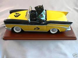 COLORADO BUFFALOES CRUISIN CAR RALPHIE FIGURE FIGURINE - $34.33