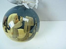Enesco 1992 Precious Moments   Samuel J. Butcher  Christmas Ornament  - $12.19