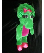 "1992 Dakin Baby Bop Dinosaur from Barney Plush (Lyons Group) Green 13"" - $19.79"