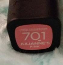 L'OREAL Colour Riche Lip Collection Exclusive Lipstick Shade 701 Juliann... - $3.00
