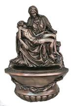 "Pieta Font, Cold Cast Bronze, 10"" - $97.28"