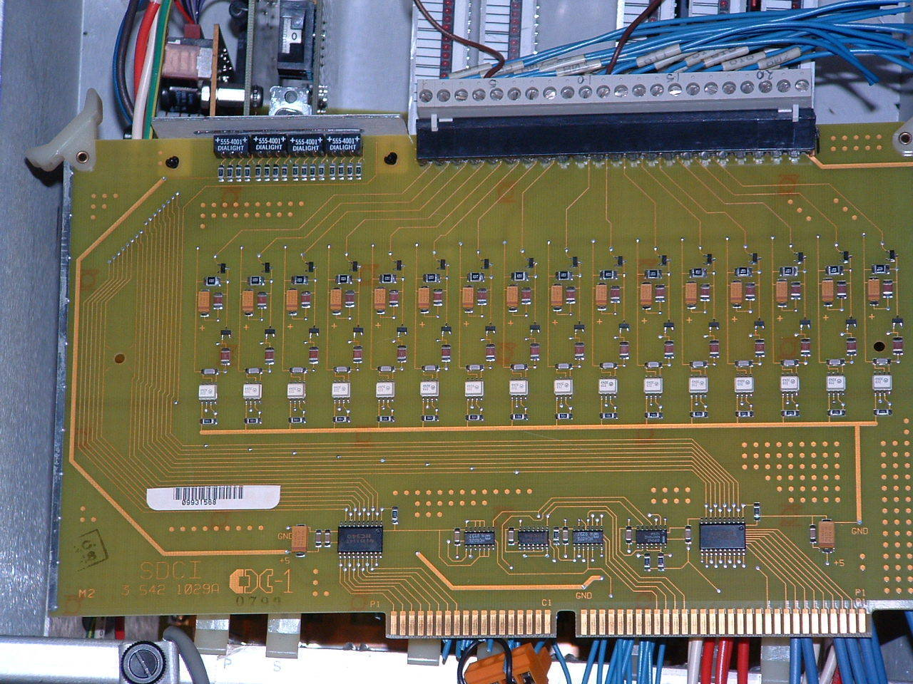 Primary image for Cincinnati Acramatic 850SX I/O 3-542-1029A DCI board