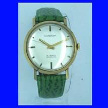 Mint 14k Gold Cortebert BAC Retro 21 Jewel Wrist Watch 1974 - $811.56