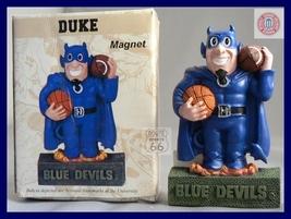 Duke Devils Bears Football Basketball 3 D Magnet  - $12.75