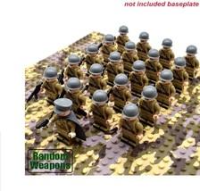 21PCs/set WW2 Army Military Uni Soviet Building Blocks Small Soldier Wea... - $24.99