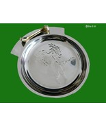 "GOLF ""Classics"" Silver tone metal TRINKET TRAY - 4 5/8 inches - FREE SHI... - $15.00"