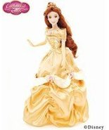 Brass Key Disney Enchanted Tales 'Belle' Gold Collection Porcelain Doll - $129.99