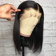 Tinashe 9A Human Hair Wigs Bob Wig Straight Hair 13x4 Lace Front Human Hair Wigs image 5