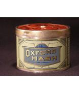 Antique Oxford Hash Tobacco Tin - Circa 1892 - (sku#1670) - $27.40