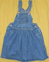 Youth Girls Classic Gap Brand Jumper Dress size 5 XL / 28-30x25 - $13.06