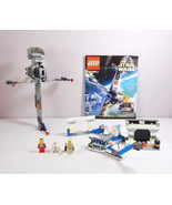 Lego Star Wars 7180 Episode IV-VI B-Wing at Rebel Control Center 3 Minifigs - $80.06