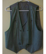 WOMENS GREEN VEST WITH EMBELLISHMENTS, FROM R.J. STEVENS by CAROL ESCRIT... - $33.41