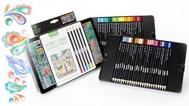 Crayola Blend & Shade Colored Pencils in Decorative Tin, Soft Core, Adul... - $26.00
